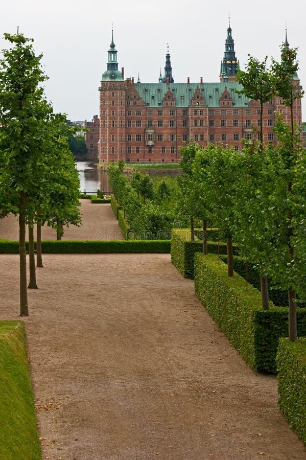 aleja target2543_0_ grodowy Frederiksborg obraz stock