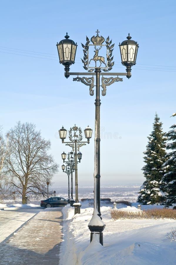 Download Aleja W Kremlin Nizhny Novgorod Obraz Stock - Obraz: 28928223