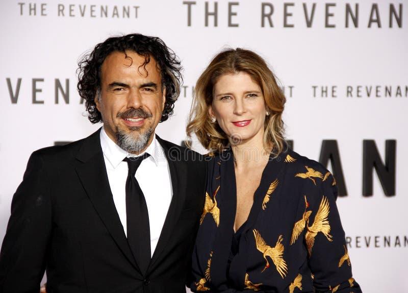 Download Alejandro Gonzalez Inarritu And Maria Eladia Hagerman Editorial  Photo - Image of event, redcarpet