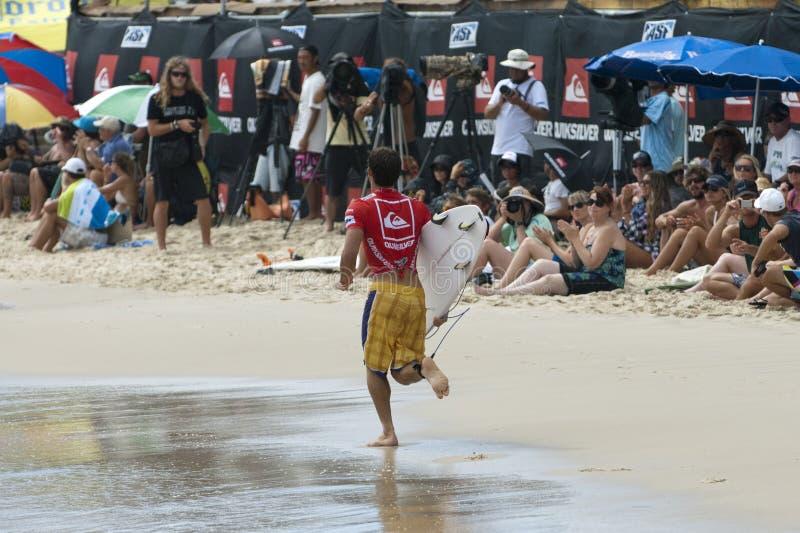 Download Alejo Muniz - Quicksilver Pro Editorial Stock Photo - Image of queensland, beach: 18703568