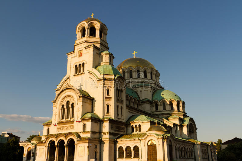Aleksandar Nevski Cathedral. In Sofia royalty free stock images