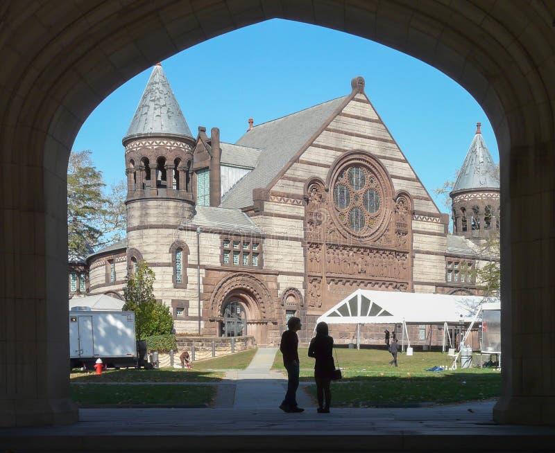 Aleksander Hall przy uniwersytet princeton obrazy royalty free