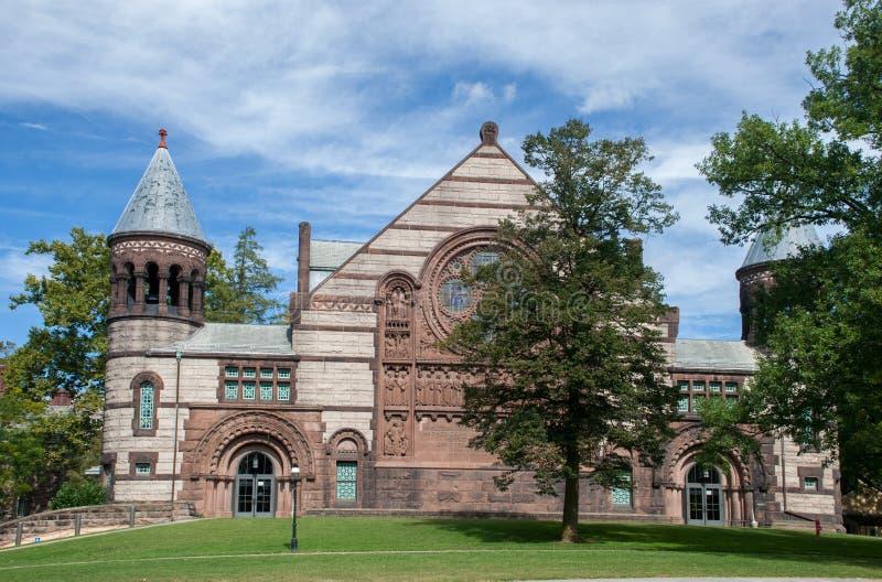 Aleksander Hall przy uniwersytet princeton w Princeton, Nowym - bydło USA zdjęcia royalty free
