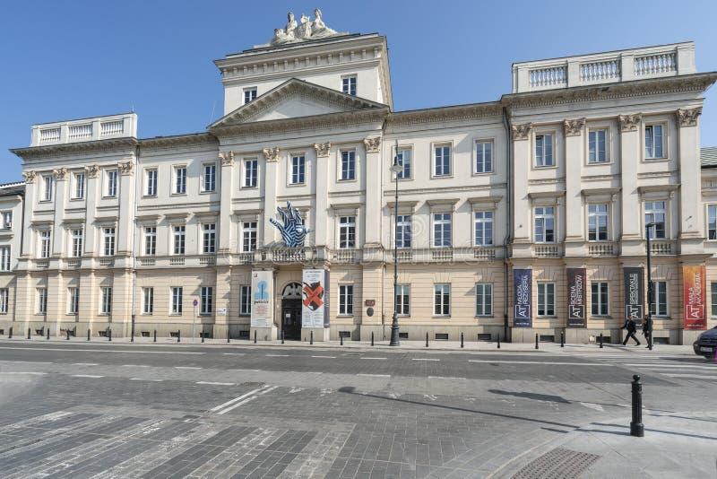 Aleksander Zelwerowicz National Academy av dramatisk konst i Warszawa arkivbilder