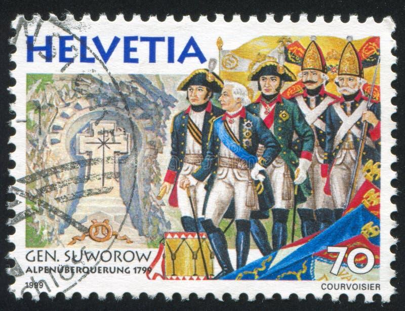 Aleksandr Suvorov stockbilder