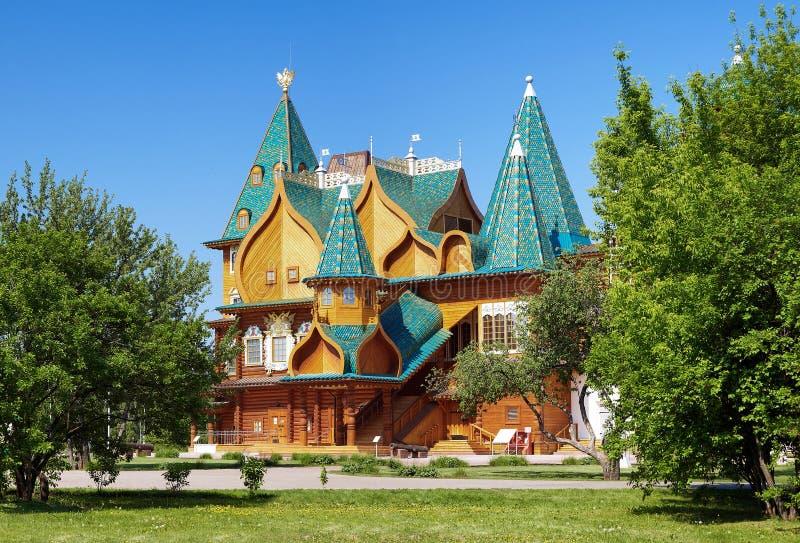 aleksey mikhailovich tzar宫殿的门廊 免版税库存图片