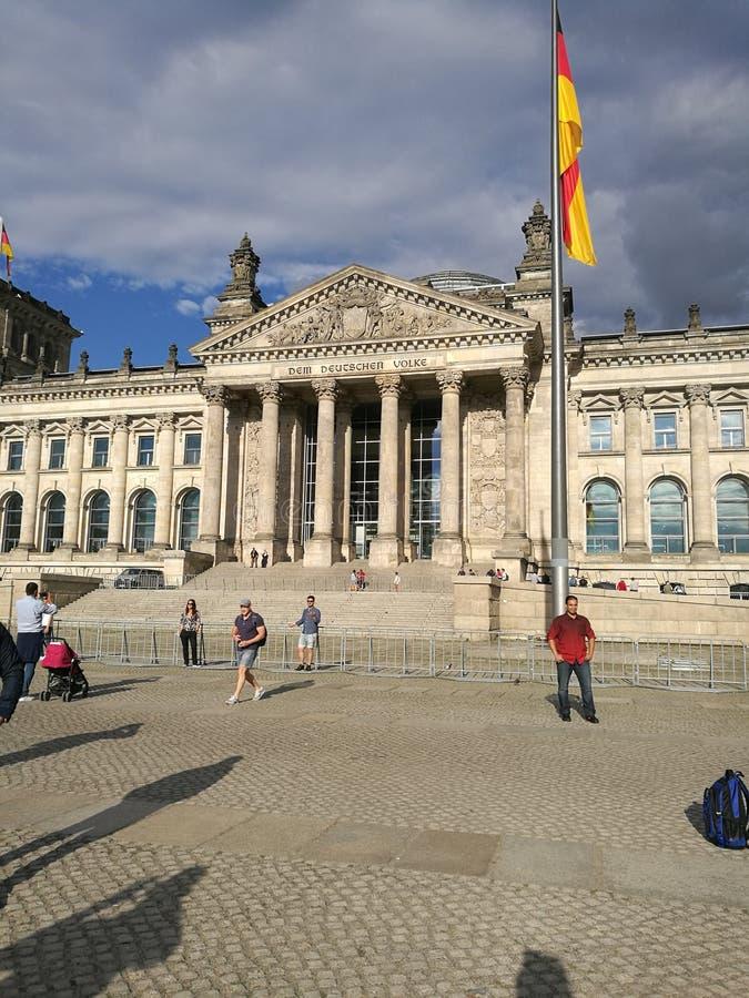 alemán el Parlamento alemán imagen de archivo libre de regalías