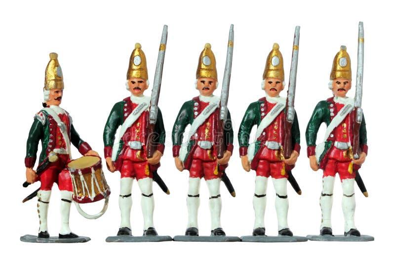Alemán Toy Soldiers imágenes de archivo libres de regalías
