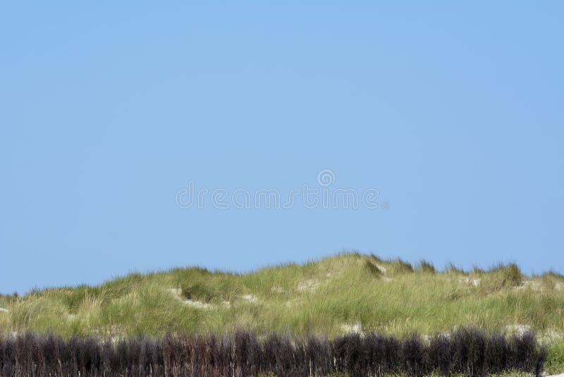 Alemanha, Schleswig-Holstein, Heligoland, duna com estorno imagens de stock royalty free