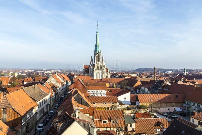 Alemanha, Thuringia, Muhlhausen, fotografia de stock royalty free