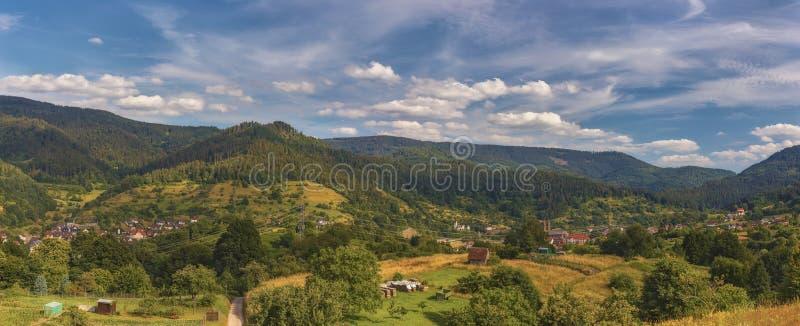 alemania Schwarzwald Panorama de tres fotos fotos de archivo libres de regalías
