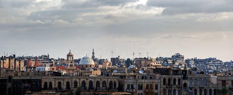 Aleppo Siria fotografia stock libera da diritti