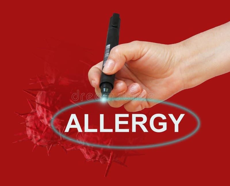 alergia ilustracji