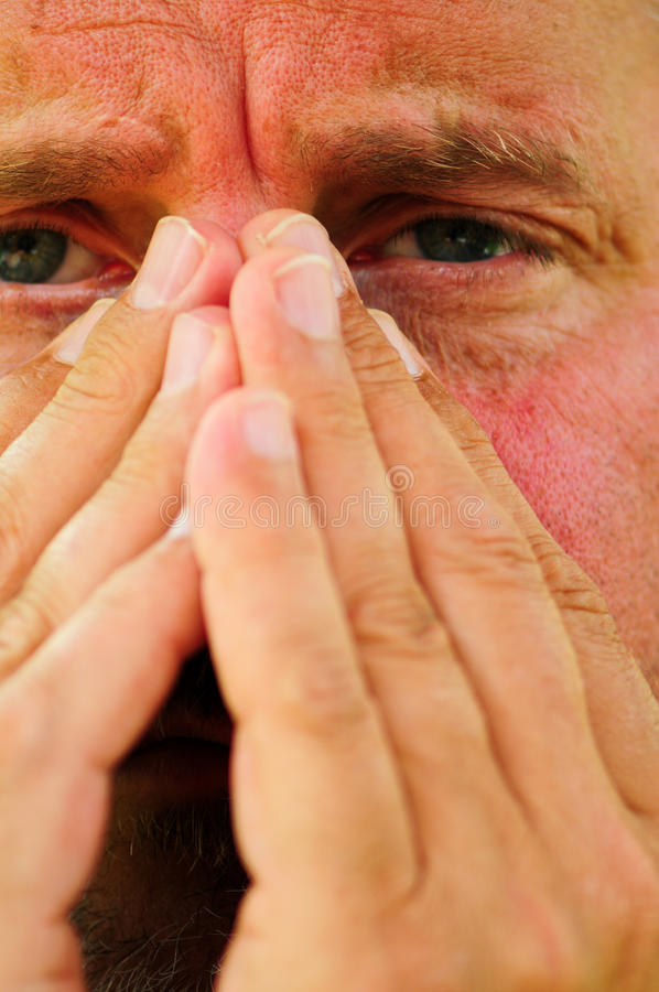Alergias foto de stock