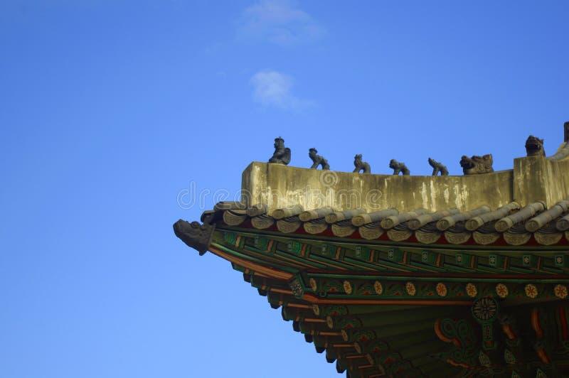 Alero coreano fotografía de archivo libre de regalías