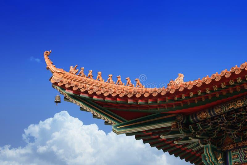 Aleros chinos foto de archivo libre de regalías