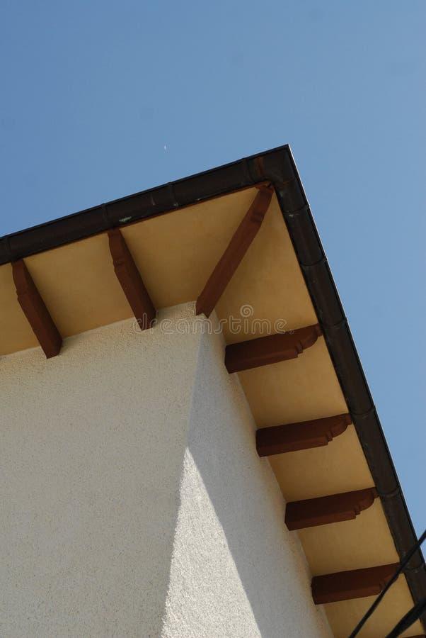 Aleros de un tejado imágenes de archivo libres de regalías