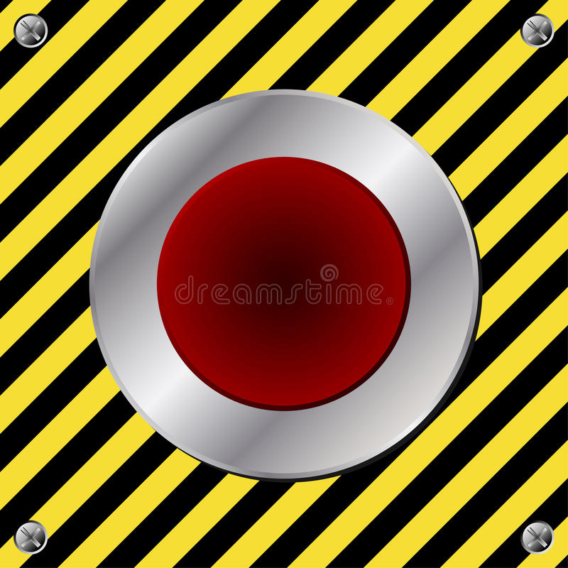 Download Alert button stock vector. Image of panel, illustration - 24144570