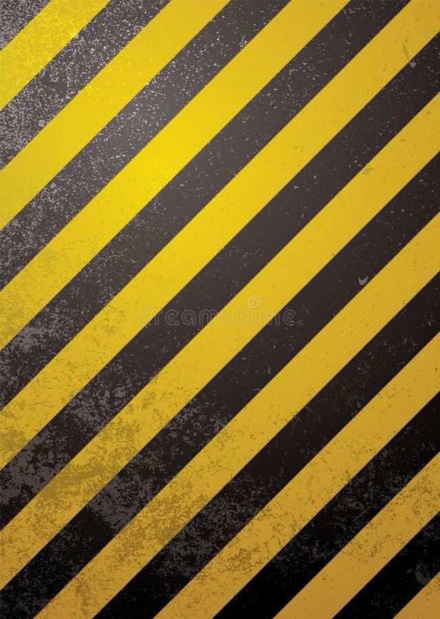 alert standard varning royaltyfri illustrationer