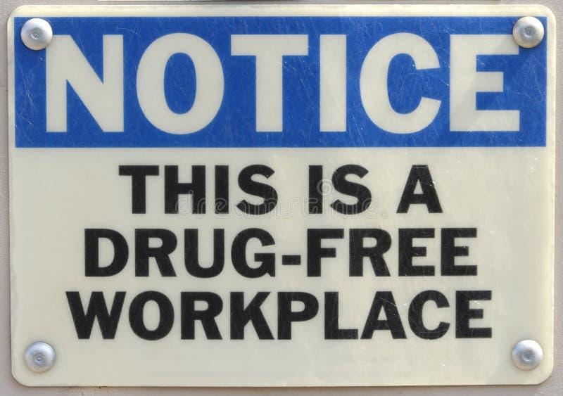 Alerta del lugar de trabajo fotografía de archivo libre de regalías