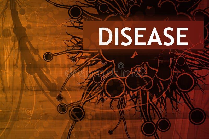 Alerte de garantie de la maladie illustration libre de droits