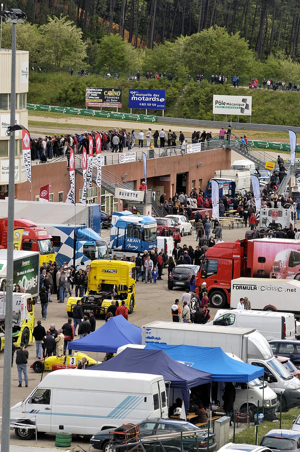 Download Ales - France - Grand Prix Of France Trucks May 25th And 26th, 2013 Editorial Photography - Image: 31894327
