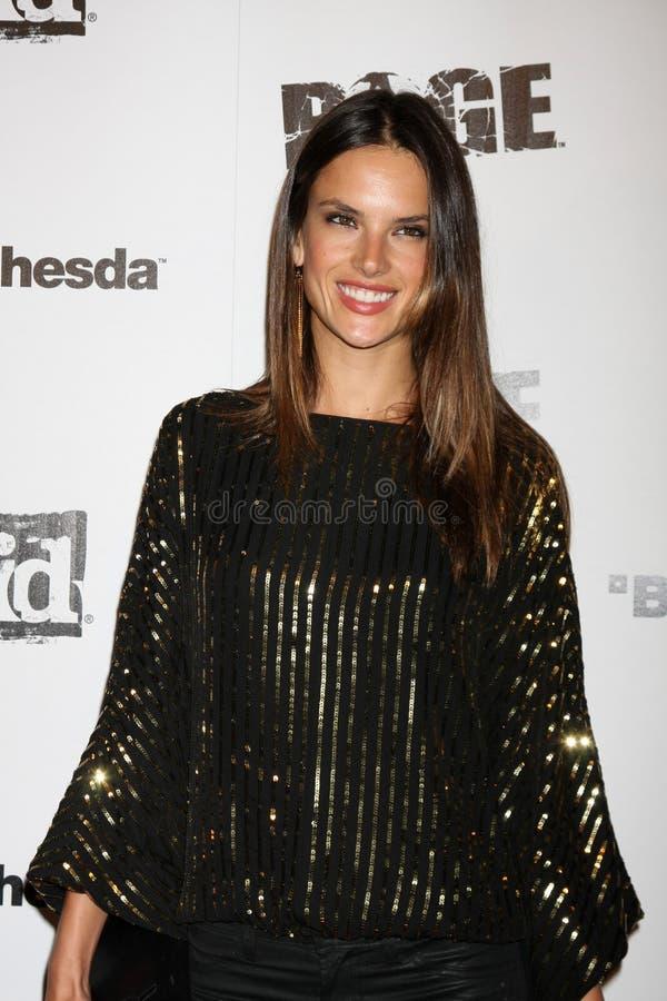 Alessandra Ambrosio, raiva imagens de stock royalty free
