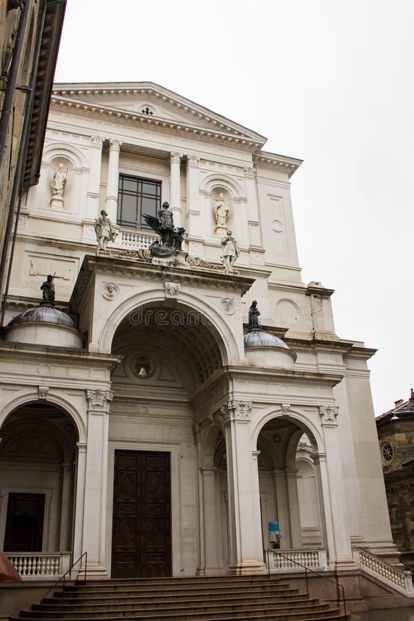 ` Alessandro di Bergamo Cattedrale di Sant stockfotografie