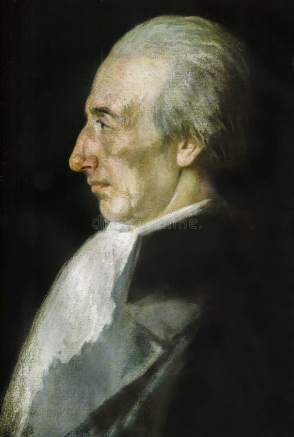 Alessandro Malaspina portret, włoszczyzna badacz zdjęcia royalty free