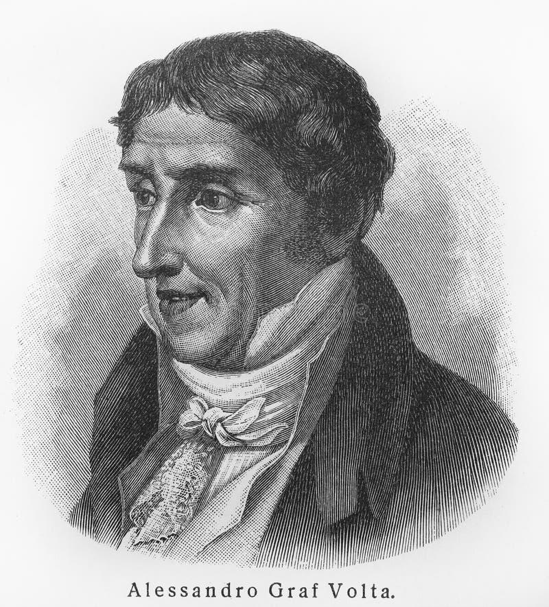 Alessandro Volta stock afbeeldingen