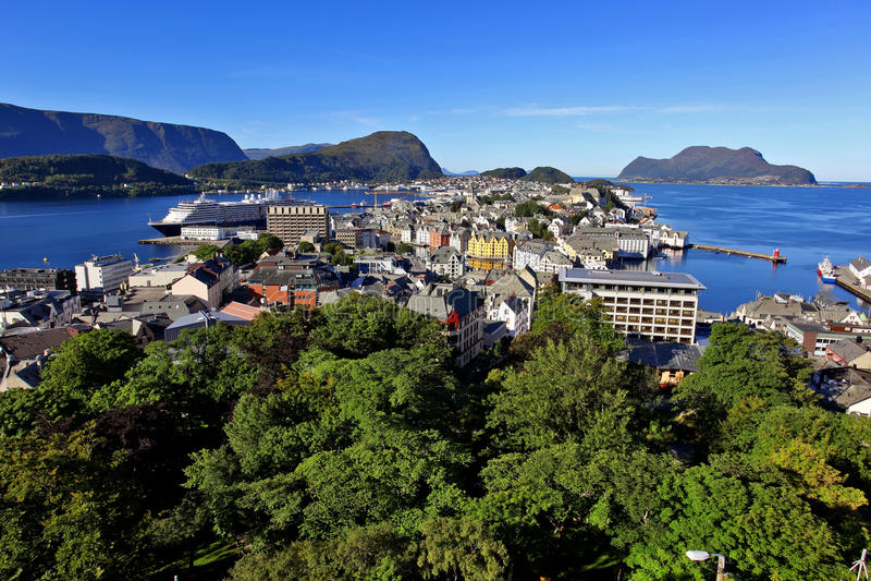 alesund Norway zdjęcia stock