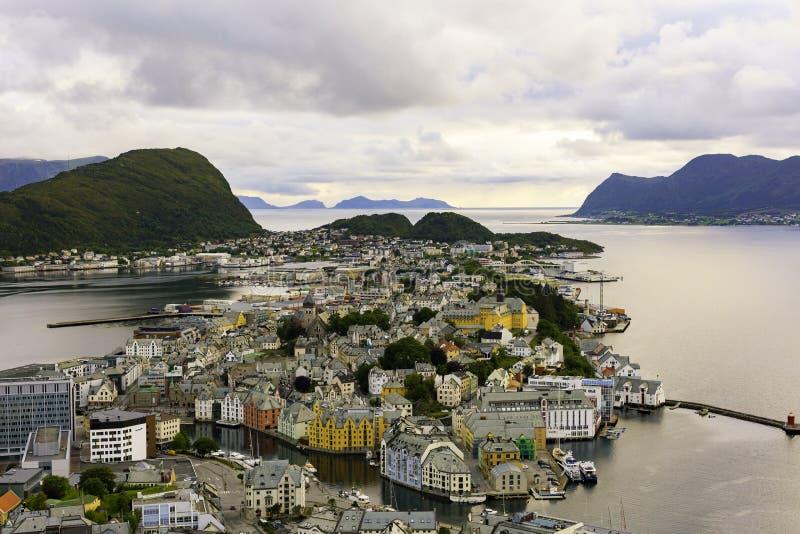 Alesund, Norwegia zdjęcie royalty free