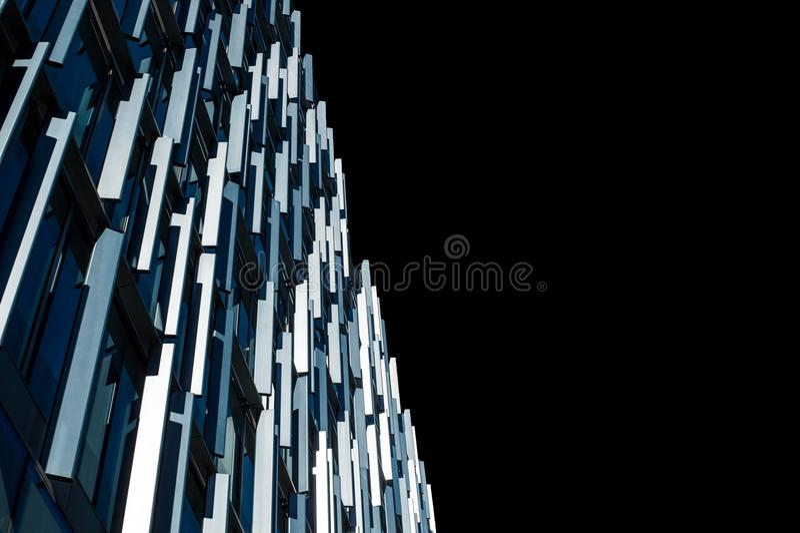 Aleta azul que constrói Bankside Southwark Londres Reino Unido fotos de stock royalty free