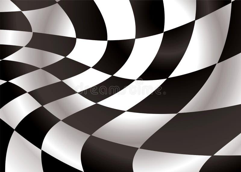 Aleta Checkered ilustração royalty free