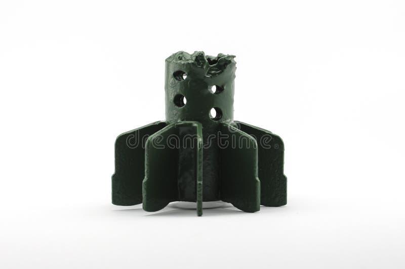 Aletas de la cáscara del mortero fotografía de archivo