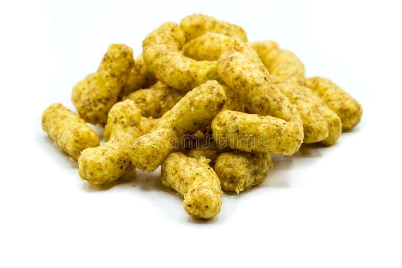 Aletas do amendoim isoladas no fundo branco fotografia de stock