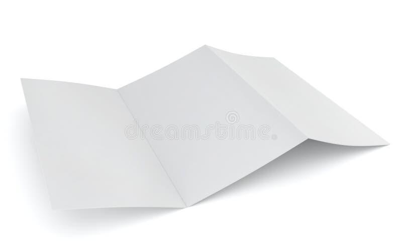 Aletta di filatoio in bianco illustrazione vettoriale