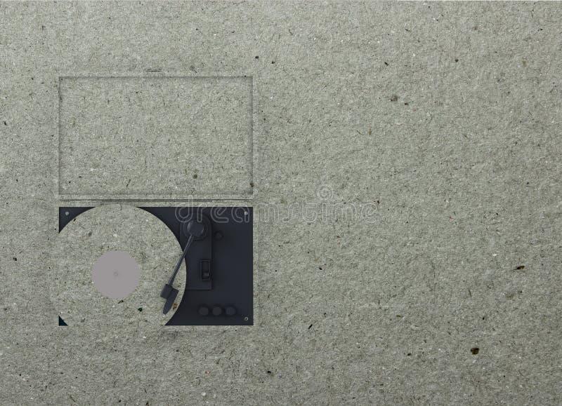 Download Aletta Di Filatoio Della Piattaforma Girevole Illustrazione di Stock - Illustrazione di turntable, carta: 55351183