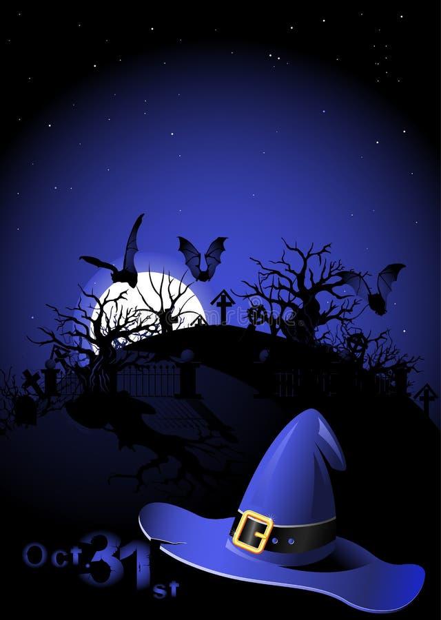Aletta di filatoio di Halloween illustrazione vettoriale