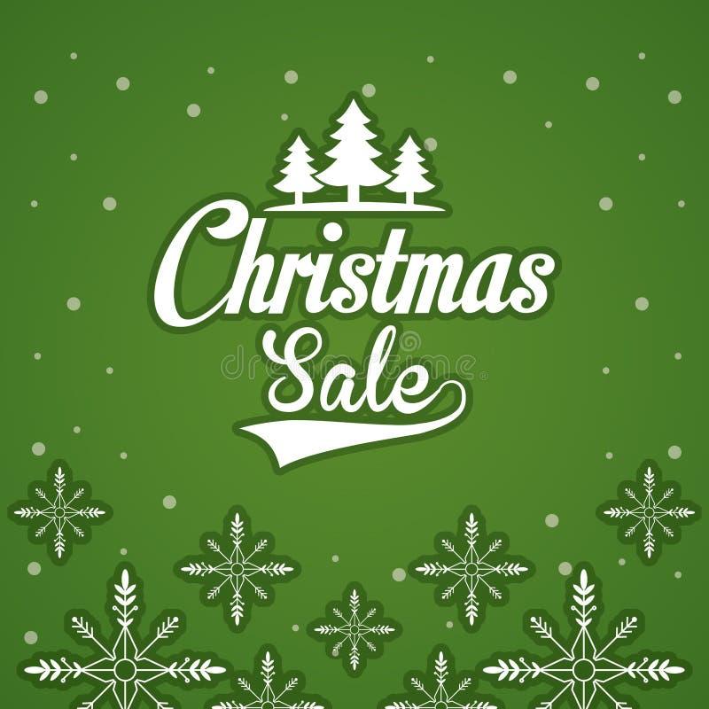 Aletta di filatoio di vendita di Natale royalty illustrazione gratis