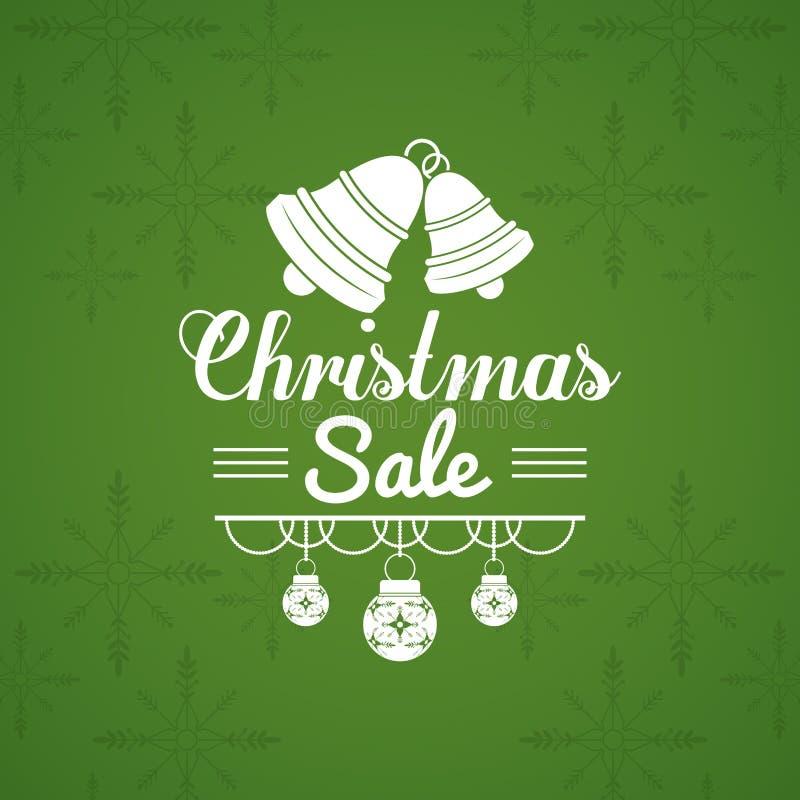Aletta di filatoio di vendita di Natale illustrazione di stock