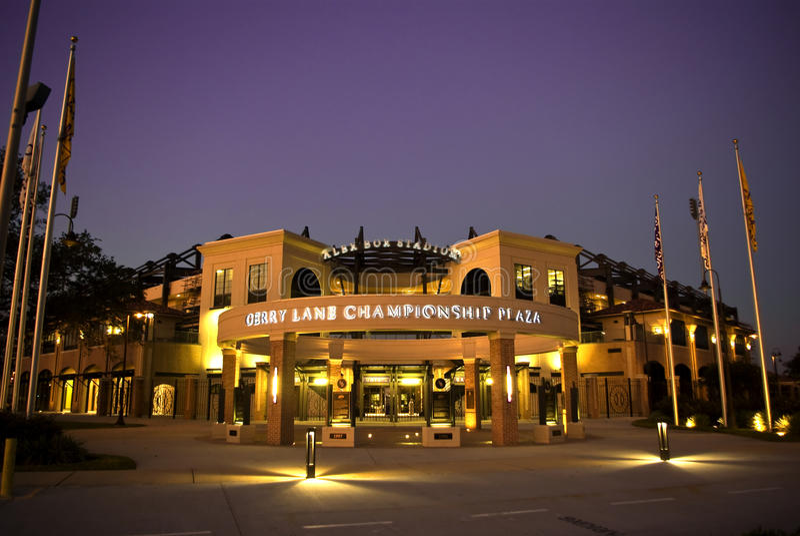 Alex-Kasten-Stadion, LSU Baseball lizenzfreies stockfoto