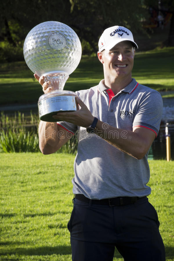 Alex Noren - NGC2016 - Champion royalty free stock photography