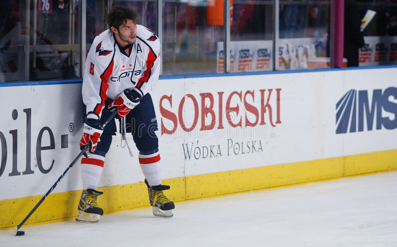 Alex Ovechkin stock photography