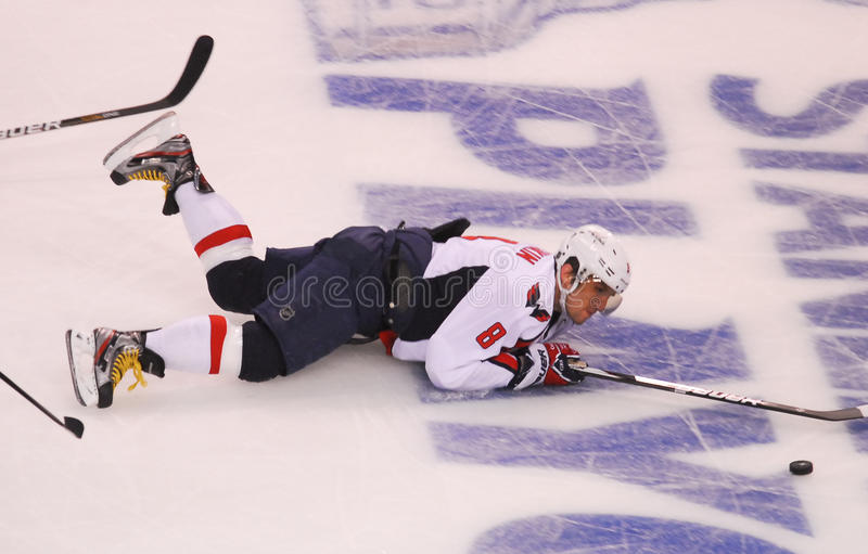 Alex Ovechkin, Washington Capitals immagine stock