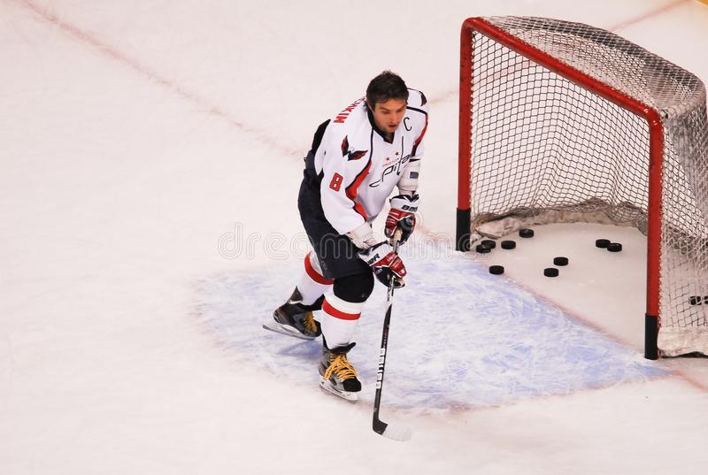 Alex Ovechkin royalty free stock photography