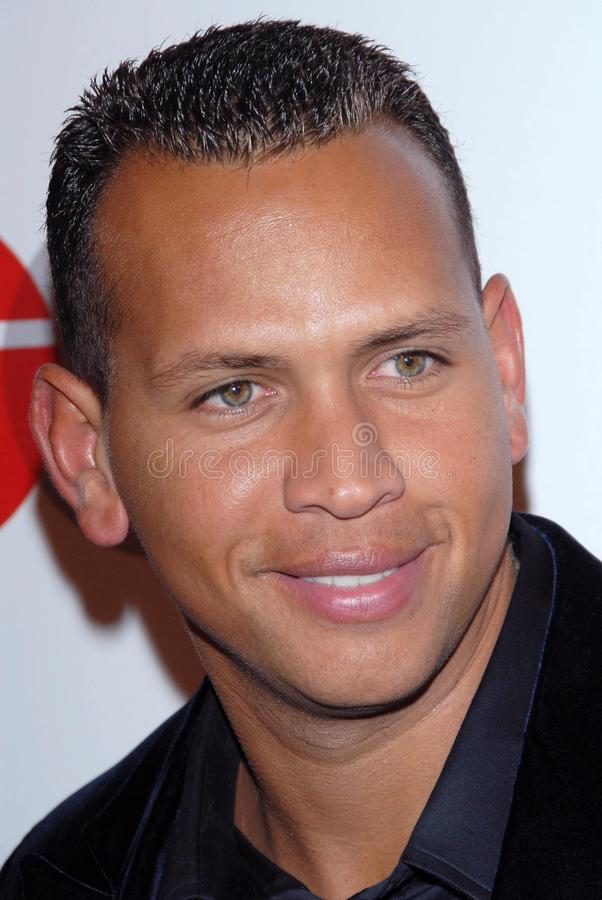 Alex Rodriguez immagine stock