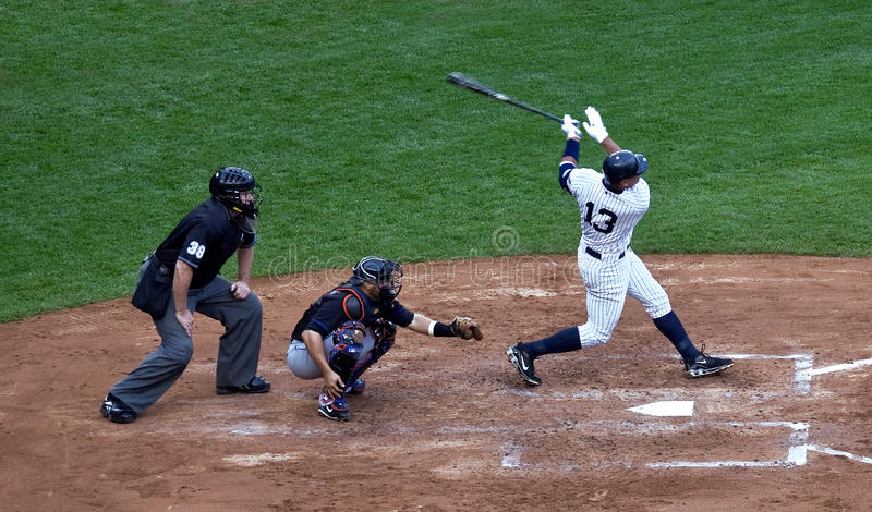 Alex Rodriguez's 562nd Home Run stock photography