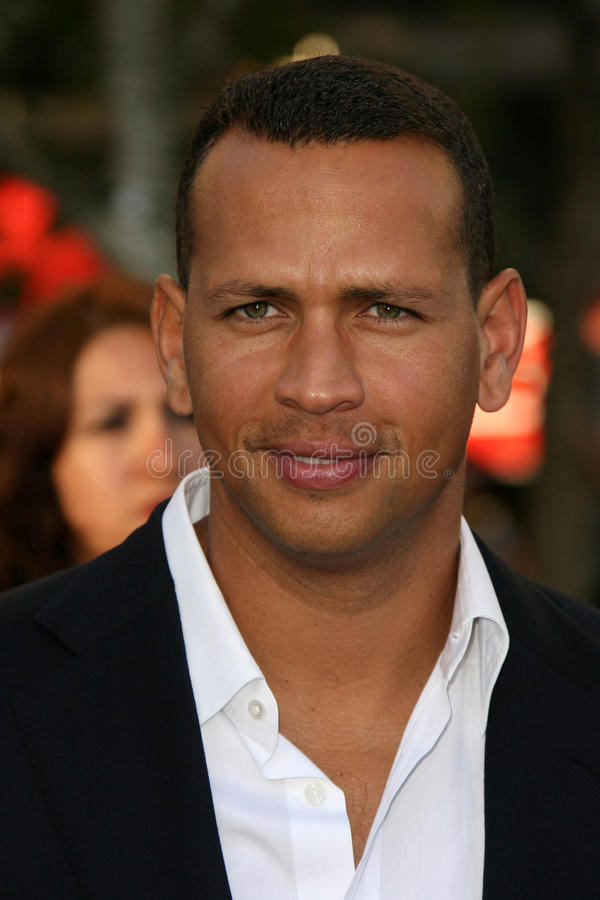 Alex Rodriguez royalty free stock image
