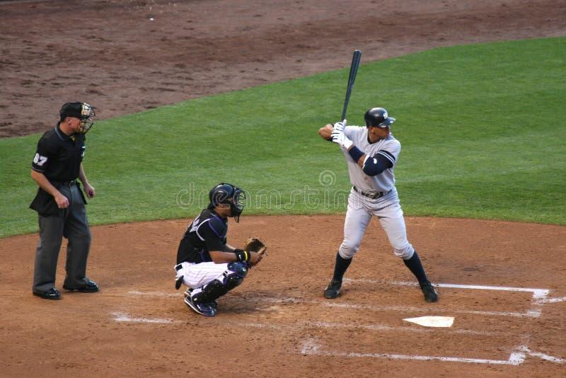 Alex Rodriguez, Yankees de New York photographie stock